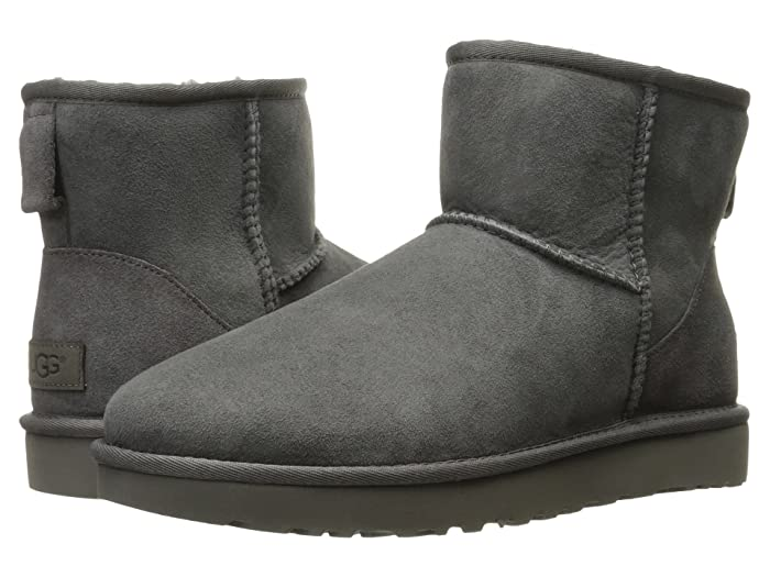 UGG  Classic Mini II (Grey) Womens Boots
