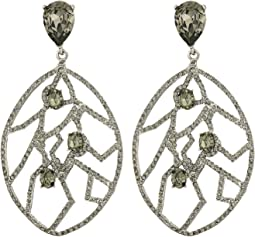 Oscar de la Renta - Luster Drop C Earrings