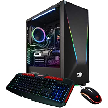 iBUYPOWER Pro Gaming PC Computer Desktop Intel i9-9900k 3.6 GHz, Geforce RTX 2070 Super 8GB, 16GB DDR4, 1TB HDD, 240GB SSD, Z390, Liquid Cooling, Windows 10, VR Ready (Trace 9240V2)