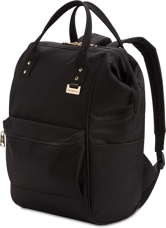 SwissGear 3576 Artz Vintage Laptop Backpack (Large, Black)
