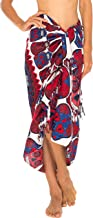 SHU-SHI Womens Beach Cover Up Sarong Swimsuit Cover Ups Day of The Dead