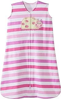 Halo Ladybug Pink Stripe Sleepsack Wearable Baby Blanket, Small