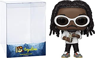 Takeoff: Funk o Pop! Rocks Vinyl Figure Bundle with 1 Compatible 'ToysDiva' Graphic Protector (110 - 37855 - B)