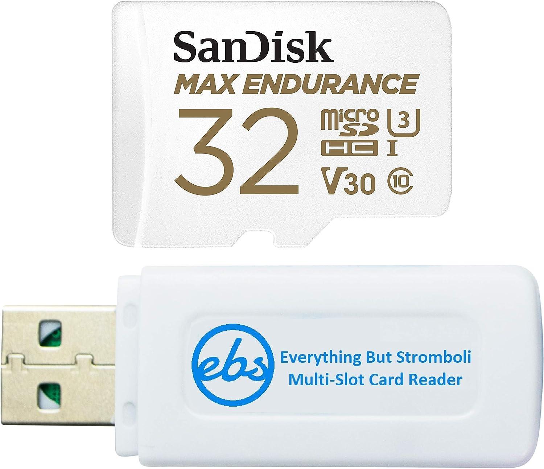 Miami Mall SanDisk MAX Endurance 32GB TF Das mart Card MicroSDHC for Memory