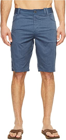 Stretch Motil Five-Pocket Shorts