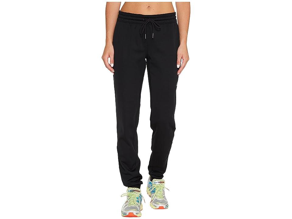 New Balance Accelerate Fleece Joggers (Black) Women