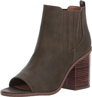 حذاء برقبة حتى الكاحل للنساء من بي سي