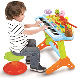 Best toy keyboard with stool Reviews