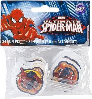 Wilton W35072 Fun Pix, Spider-Man, 24-Pack