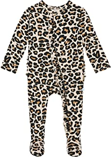 Posh Peanut Baby Rompers Pajamas - Newborn Sleepers Girl Clothes - Kids One Piece PJ - Soft Viscose from Bamboo
