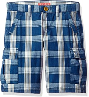 Guess Big Boys ' Cargo Plaid Short