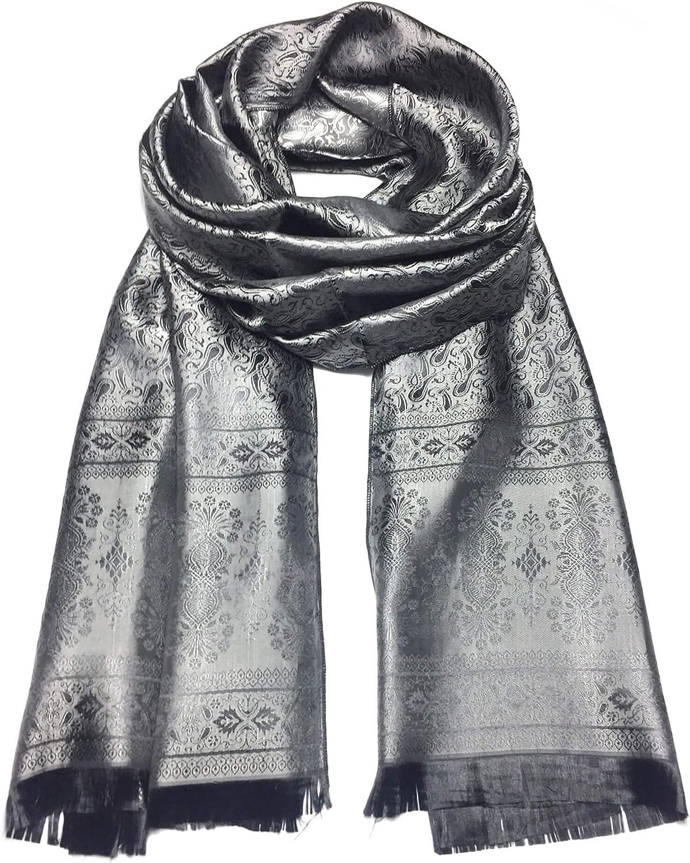 Paisley silk scarf Scarves1938 unis shawl elegant festival Philadelphia Large-scale sale Mall