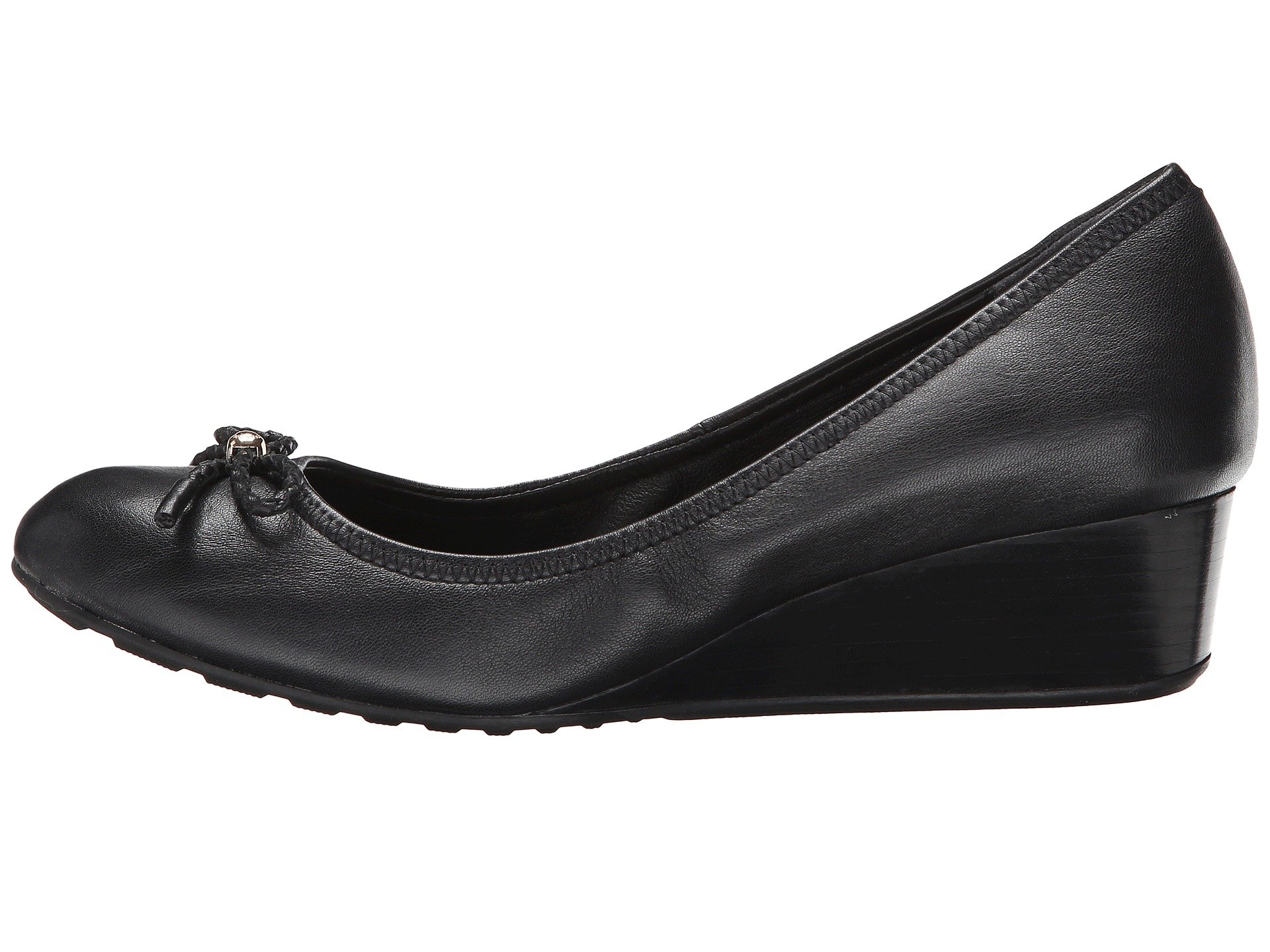 Cole Haan Tali Grand Lace Wedge 40 At Zappos Com