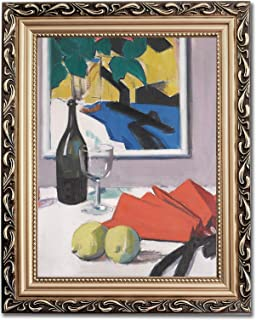 Ori Gallery Framed Canvas Print - The Red Fan - by Francis Campbell Boileau Cadell