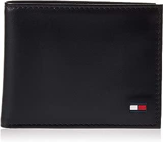 Tommy Hilfiger 31TL22X046-001 Dore Bi-fold Leather Wallet for Men