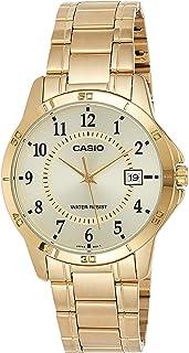 ساعة كاسيو للرجال MTP-V004G-9B – أنالوج، رسمية