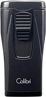 Colibri Monaco Triple-Jet Lighter - Metallic Black