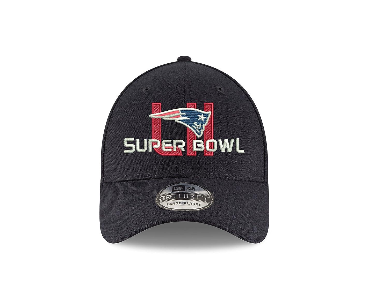 New England Patriots New Era Super Bowl LII 39thirty Flex Fit Hat