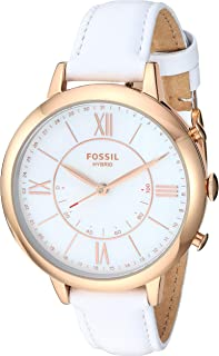 Fossil Womens Quartz Watch, Analog Display and Leather Strap FTW5046