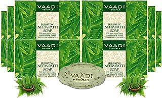 Vaadi Herbals Neem Patti Soap, 75g (Pack of 12)