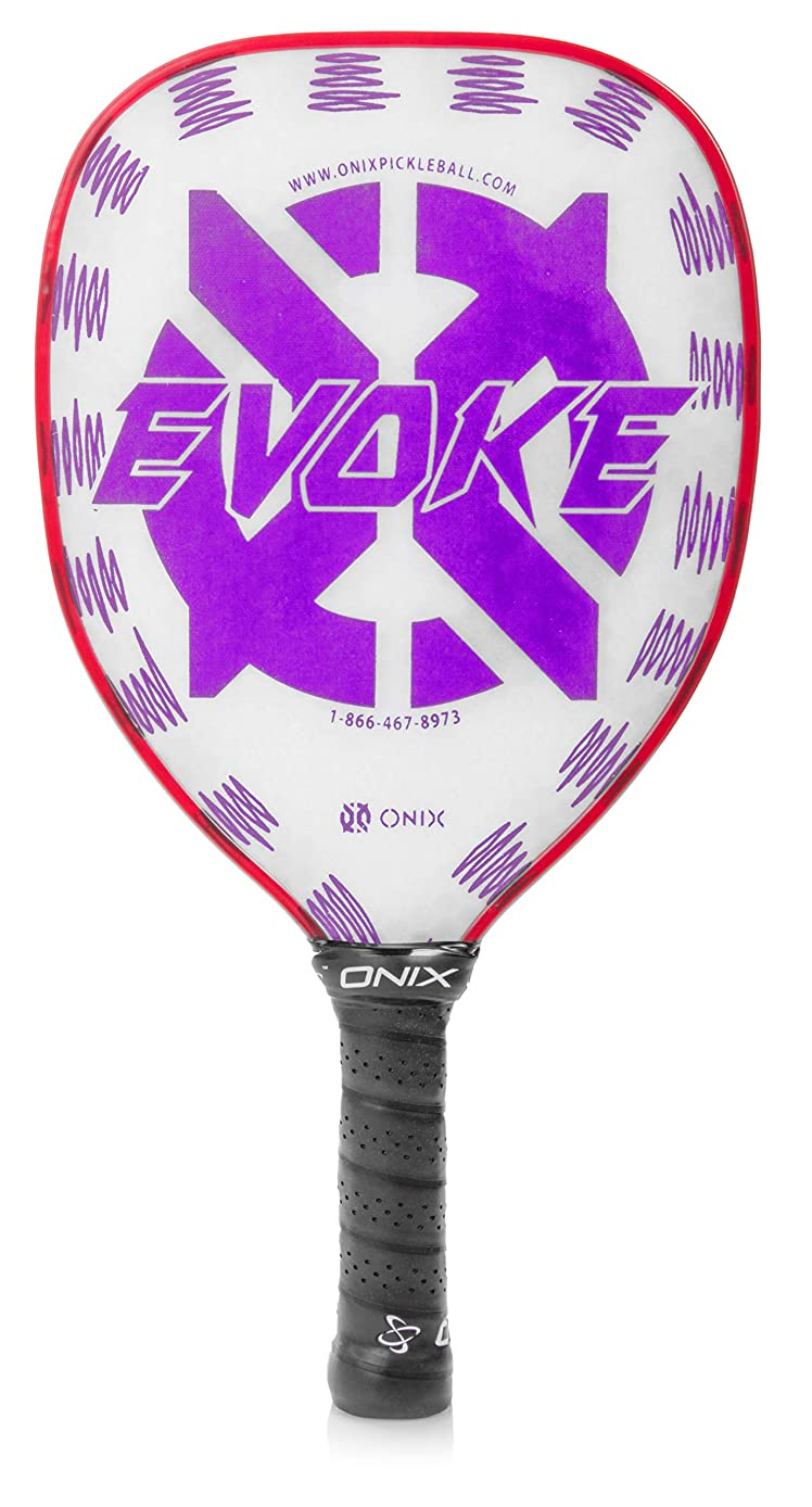 Onix Evoke Series Pickleball Paddles with Composite Face and Polypropylene Core