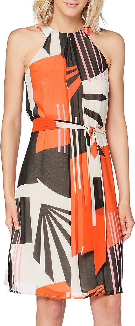 Esprit Collection Damen Kleid Amazon De Bekleidung