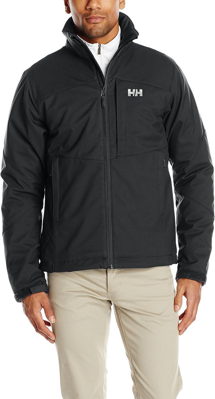 Helly Hansen Men's Paramount Ins Softshell Jacket, Black, Large