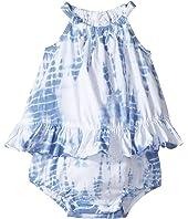 Ralph Lauren Baby - Cotton Jersey Tie-Dye Bubble Shortalls (Infant)