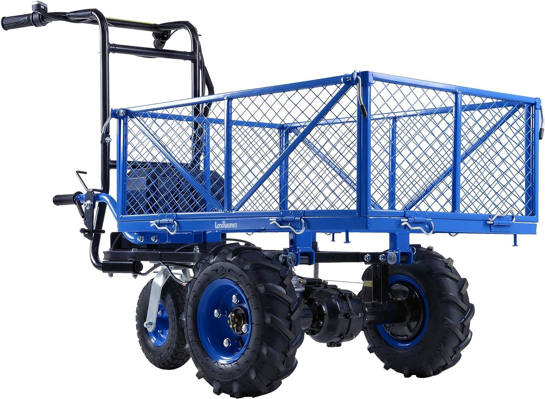 Landworks Wheelbarrow Utility Power Wagon Service Cart