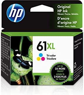 HP 61XL | Ink Cartridge | Works with HP Deskjet 1000 1500 2050 2500 3000 3500 Series, HP ENVY 4500 5500 Series, HP Officej...