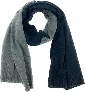 Echo Black/Grey Oblong Color-block Winter Scarf