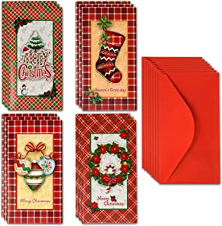 12 Ct. Pop up Christmas Money/Gift Card Holders with Envelopes