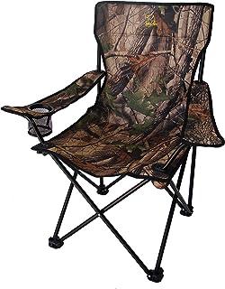 BENISPORT - Sillón plegable camuflaje - Sillon de acampada, camping, outdoor, silla de pesca.