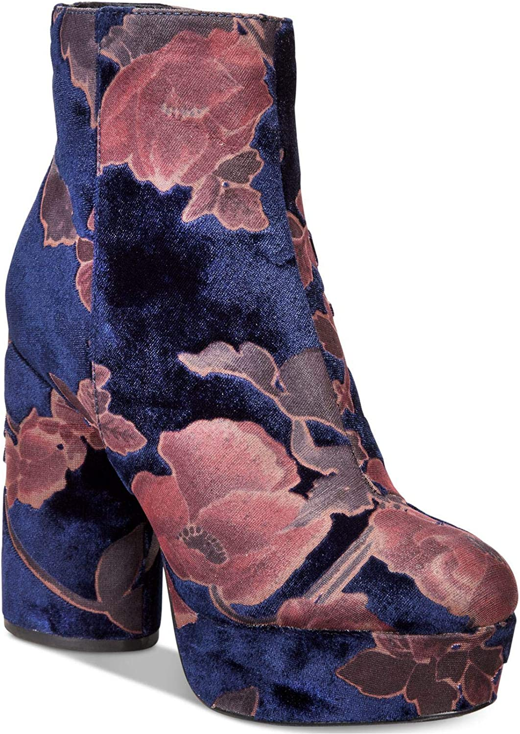 Call It Spring Womens Crini 6 Fabric Almond Toe Ankle Fashion Boots