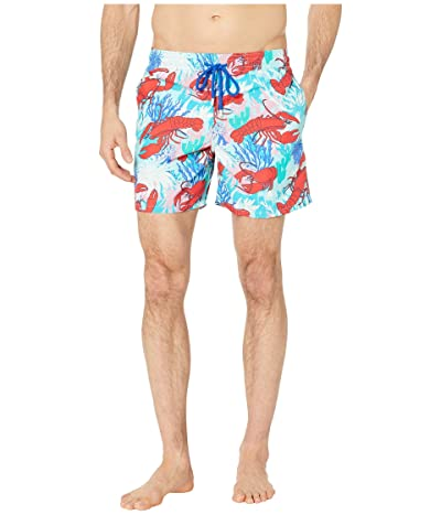 Vilebrequin Lobster Coral Moorea Swim Trunks (Medici Red) Men