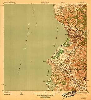 YellowMaps Mayaguez PR topo map, 1:30000 Scale, 7.5 X 7.5 Minute, Historical, 1939, 20.9 x 19.1 in