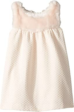 Chloe Kids - Sleeveless Faux Fur Dress (Infant)