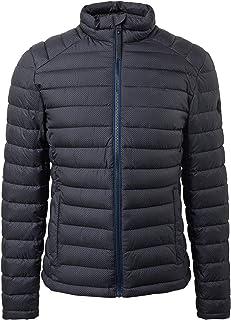 Tom Tailor 1011337 18209 Quilted Jacket Blue Grey Minimal Design