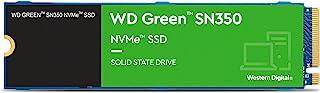 WD WDS480G2G0C Green SN350 NVMe SSD 480 GB, Siyah - Yeşil