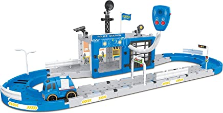 Think Gizmos Take Apart Construction Set Toy for Boys & Girls from Choose from Police, Fire or Auto Repair Stations (Police Station)