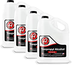 Adam's Isopropyl Alcohol 99% - High Purity IPA Industrial Chemical Lab Grade Alcohol | Use for Rubbing Alcohol Cleaner Disinfectant | Bulk Alcohol Options Gallon Liter Drum Tote (4, Gallon)
