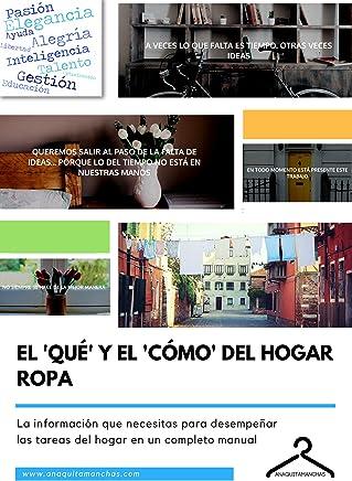 El Qué y el Cómo del Hogar - Ropa (Spanish Edition)