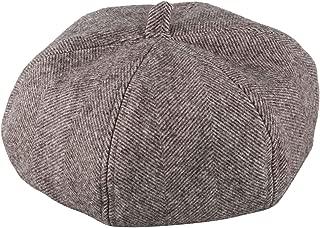 SODIAL Autumn Winter Hats Vintage Twill Beret Women Pumpkin Cap Headwear Berets Hat Dark Gray