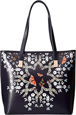 Ted Baker - Kyoto Gardens Leather Shopper