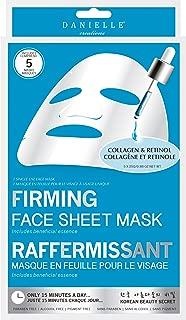 Danielle Collagen & Retinol Firming Facial Masks