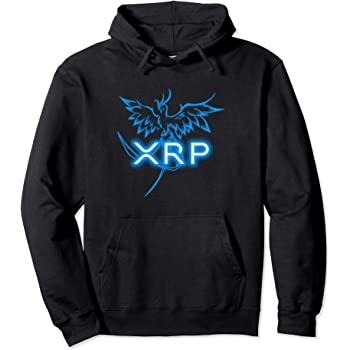 XRP Merchandise Cryptocurrency Gift Blockchain Crypto Pullover Hoodie