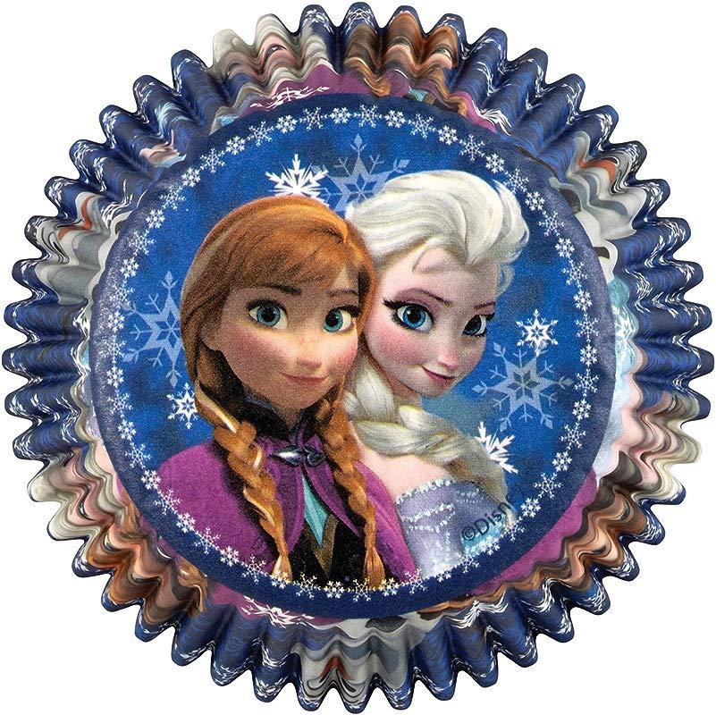 Wilton 415 4500 50 Count Disney Frozen Baking Cups