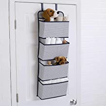 ORPIO (LABEL) Wall Mount Folding 4 Layer The Door Wardrobe Hanging Storage Bag for Closets in Bedrooms, Bathroom Clothes, Toy, Books Organizer Rack.