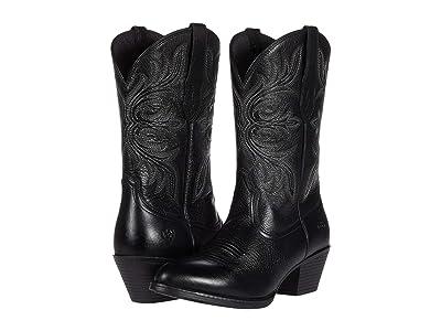 Ariat Runaway (Black Deertan) Cowboy Boots