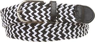 1 1/4'' Braided Woven Elastic Stretch Belt